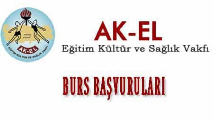 AK-EL Eğitim Kültür Ve Sağlık Vakfı Burs Başvurusu Başladı