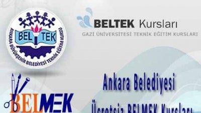 Ankara Belediyesi Ücretsiz BELMEK BELTEK Kursları