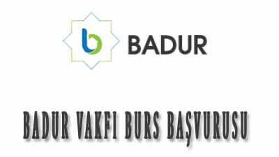 Mehmet Badur Eğitim Vakfı Burs Başvurusu