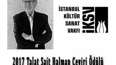 2017 Talat Sait Halman Çeviri Ödülü Başvuruları