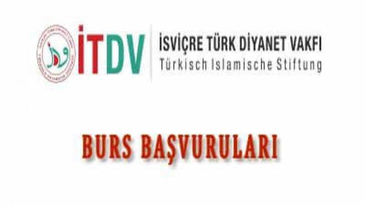 İsviçre Türk Diyanet Vakfı Burs Başvuruları Başlıyor