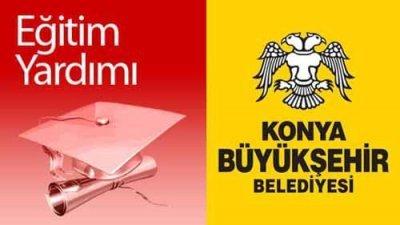 Konya Belediyesi Eğitim Yardımı Başvurusu Başladı