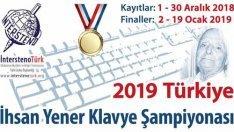 Türkiye İnternet Klavye Şampiyonası 2019