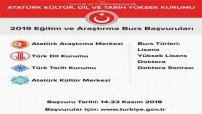 Türk Dili Kurumu Burs Başvuruları 2018-2019