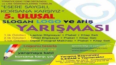 Esere Saygılı Korsana Karşıyız Slogan Logo Ve Afiş Yarışması