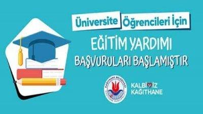 Kağıthane Belediyesi Eğitim Yardımı Burs Başvurusu