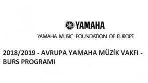 Avrupa Yamaha Müzik Vakfı Bursu