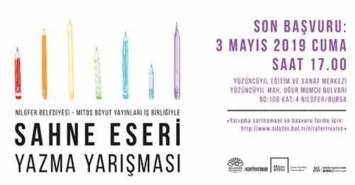Nilüfer Belediyesi Sahne Eseri Yazma Yarışması