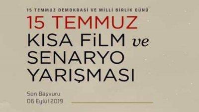 15 Temmuz Kısa Film Ve Senaryo Yarışması