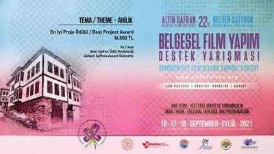 Altın Safran Safranbolu Temalı Belgesel Film Yapım Destek Yarışması
