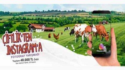 Çiftlik'ten İnstagram'a Fotoğraf Yarışması