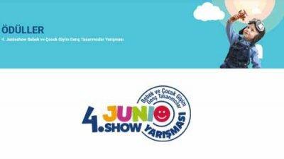 Junioshow Bebek Ve Çocuk Giyim Geç Tasarımcılar Yarışması