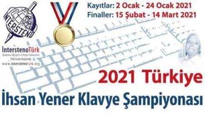 Türkiye İnternet Klavye Şampiyonası 2021