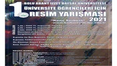 Abant İzzet Baysal Üniversitesi Resim Yarışması