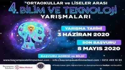 Bayrampaşa Belediyesi Bilim Ve Teknoloji Proje Yarışması
