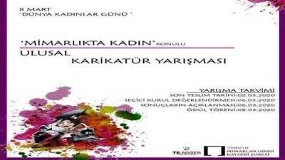 Mimarlıkta Kadın Ulusal Karikatür Yarışması