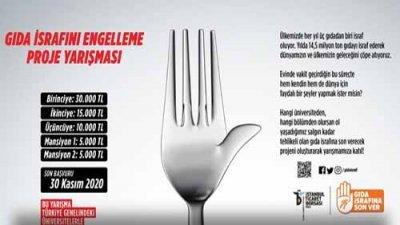 Gıda İsrafını Engelleme Proje Yarışması