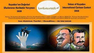 Kuşadası'nın Değerleri Uluslararası Karikatür Yarışması