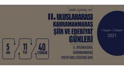 Uluslararası Kahramanmaraş Şiir Ve Edebiyat Günleri Yarışmaları
