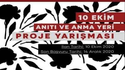 İzmir Belediyesi 10 Ekim Anıtı Ve Anma Yeri Proje Yarışması