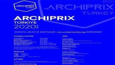 ARCHIPRIX Türkiye Ulusal Mimarlık Öğrencileri Bitirme Projeleri Yarışması