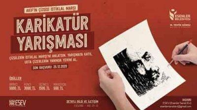 Akif'in Çizgisi İstiklal Marşı Karikatür Yarışması