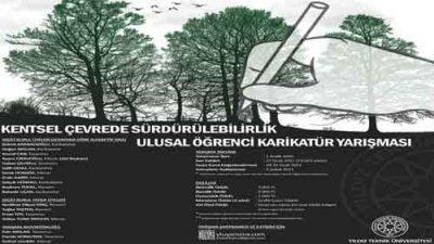 Kentsel Çevrede Sürdürülebilirlik Ulusal Öğrenci Karikatür Yarışması