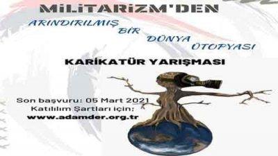 Militarizm'den Arındırılmış Bir Dünya Ütopyası Karikatür Yarışması