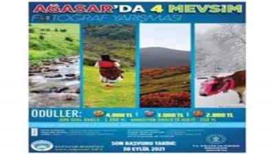 Ağasar'da Dört Mevsim Fotoğraf Yarışması