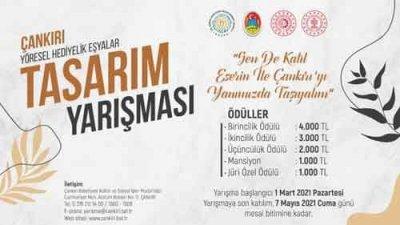 Çankırı Belediyesi Yöresel Hediyelik Eşya Tasarım Yarışması
