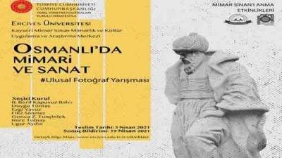 Osmanlı'da Mimari Ve Sanat Fotoğraf Yarışması