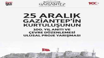 Gaziantep'in Kurtuluşunun 100 Yıl Anıtı Ve Çevre Düzenlemesi Proje