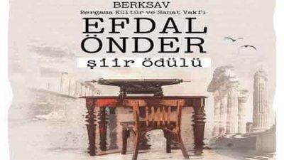BERKSAV Efdal Önder Şiir Ödülü
