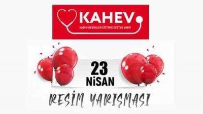 Kahev Hayalimdeki Okul 23 Nisan Resim Yarışması