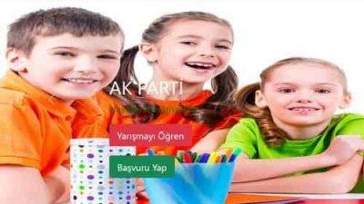 Ak Parti İstanbul Kadın Kolları Çocuk Gözünden Ramazan Resim Yarışması
