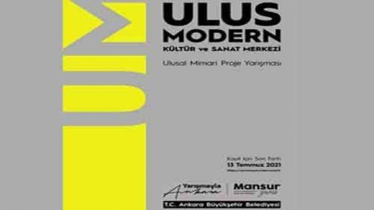 Ankara Belediyesi Ulus Modern Kültür Ve Sanat Merkezi Mimarlık Yarışması