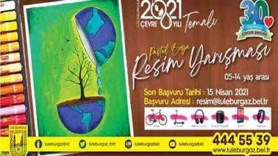 Lüleburgaz Belediyesi Uluslararası Çocuk Şenliği Resim Yarışması