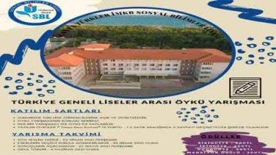 Türkler İMKB Sosyal Bilimler Lisesi Öykü Yarışması