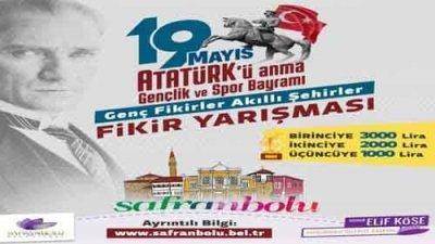 Safranbolu Belediyesi Genç Fikirler Akıllı Şehirler Fikir Yarışması