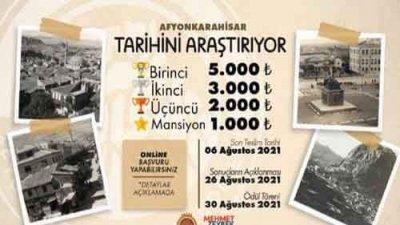 Afyonkarahisar Tarihini Araştırıyor Yarışması