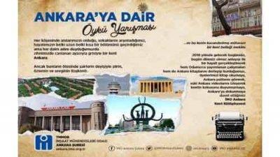 İmo Ankara Kent Kütüphanesi Ankara'ya Dair Öykü Yarışması