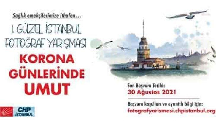 CHP Güzel İstanbul Fotoğraf Yarışması Korona Günlerinde Umut
