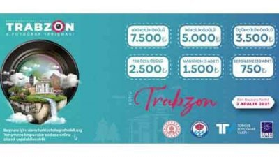 Trabzon Belediyesi Fotoğraf Yarışması