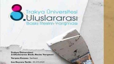 Trakya Üniversitesi Uluslararası Baskı Resim Yarışması