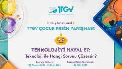TTGV Türkiye Teknoloji Geliştirme Vakfı Çocuk Resim Yarışması