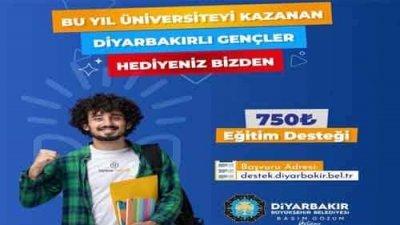 Diyarbakır Belediyesi Bursu