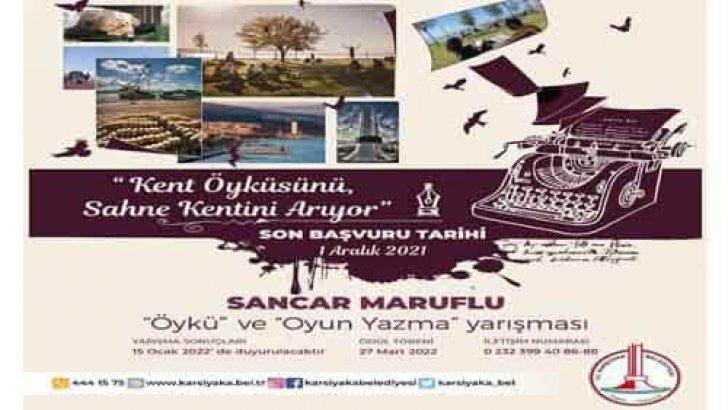 Karşıyaka Belediyesi Sancar Maruflu Öykü Ve Oyun Yazma Yarışması